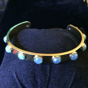 Kate Spade Blue Tag Along Stackable Bracelet